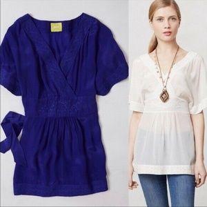 Anthropologie Maeve 2 Adana Kimono Pullover Top